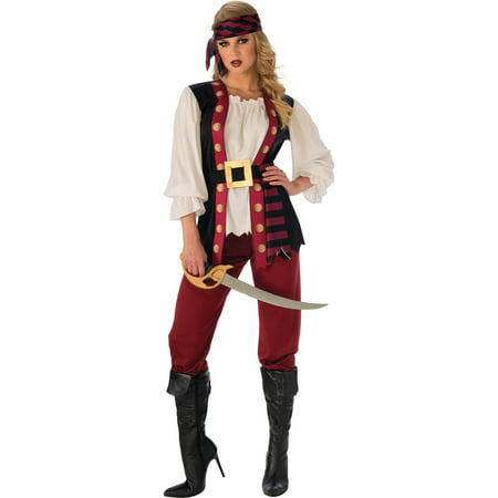 Womens Lusty Pirate Halloween Costume](Cheap Womens Pirate Costume)