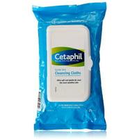 Cetaphil Gentle Skin Cleansing Cloths 25 ea (Pack of 2)