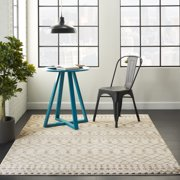 Nourison Royal Moroccan Distressed Bohemian Beige/Grey Area Rug