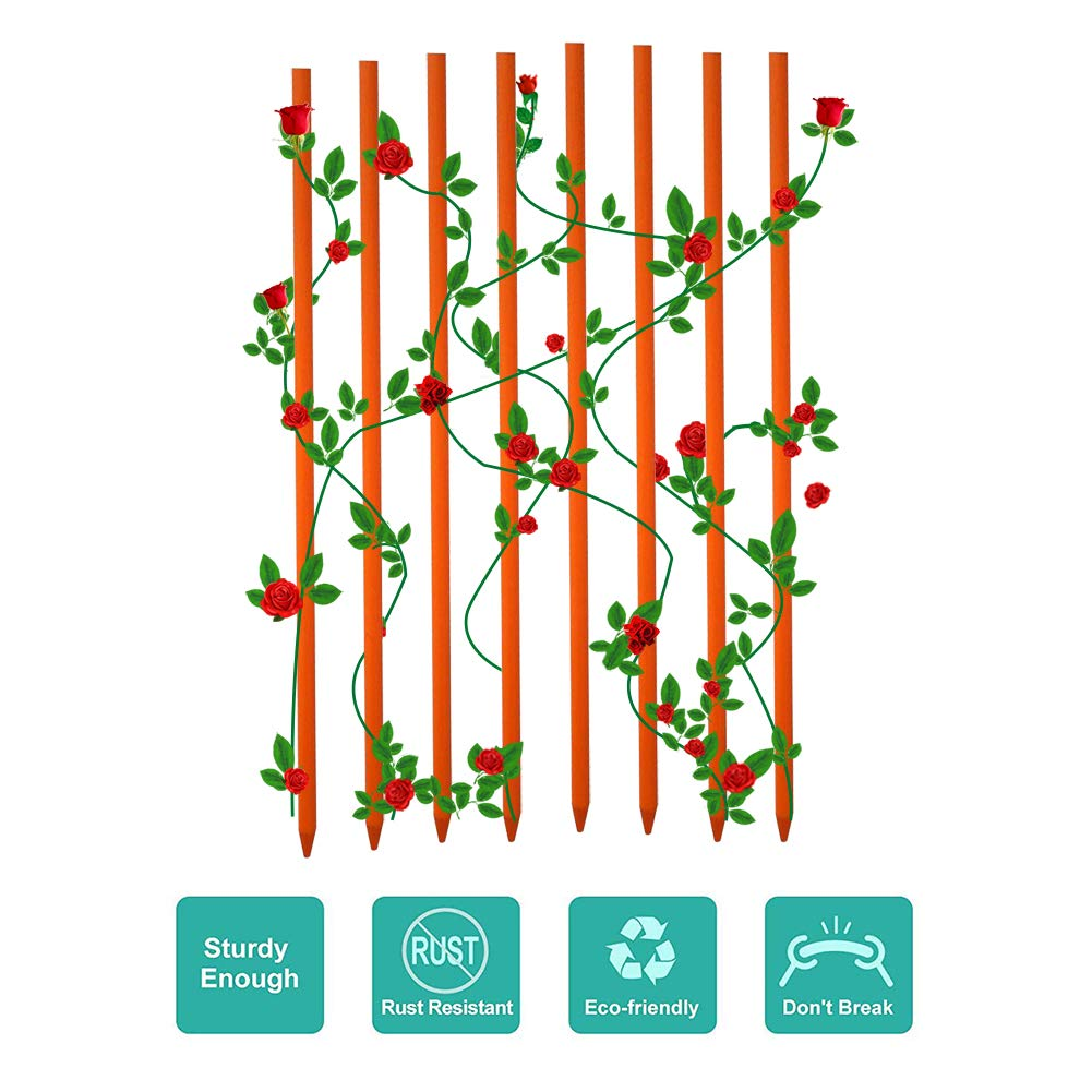 Plant!t Bamboo Stakes Plant Support Indoor Outdoor Strong Durable Hydroponics