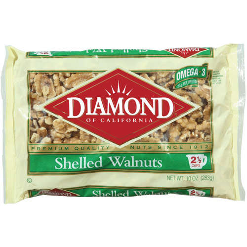Diamond: Shelled Walnuts, 10 oz
