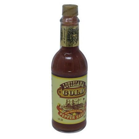(Louisiana Hot Sauce 400015715 Gold Red Pepper Sauce 12-5 Ounce)