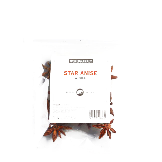 Whole Star Anise Spice Bag 4 oz each (2 Items Per Order, not per