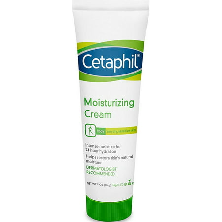 Cetaphil Body Moisturizing Cream for Very Dry Sensitive Skin, 3