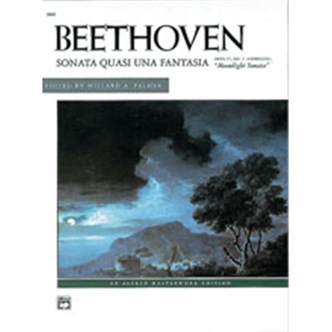 Alfred 00-2502 Moonlight Sonata- Op. 27- No. 2- Complete - Music Book