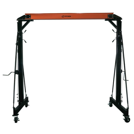 titan adjustable telescoping gantry crane 3000 lb. Black Bedroom Furniture Sets. Home Design Ideas