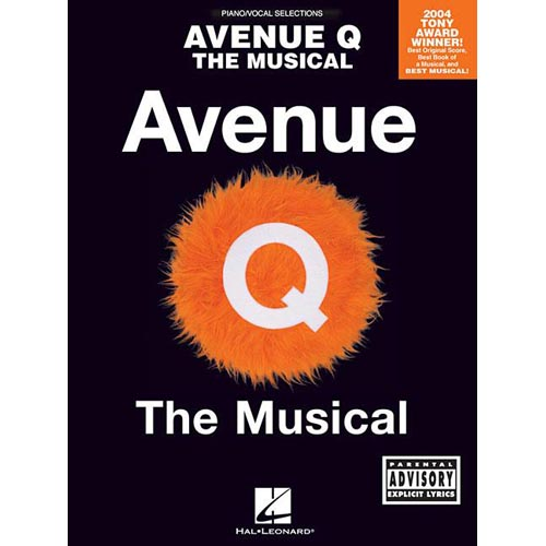 Avenue Q The Musical: Piano Vocal Selections