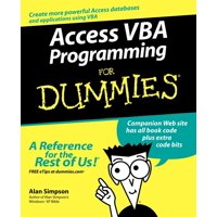 For Dummies: Access VBA Programming for Dummies (Paperback)