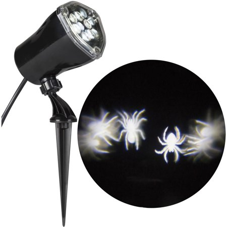 8 pc. Spider Lightshow Display Halloween Decoration (Halloween Mantel Displays)