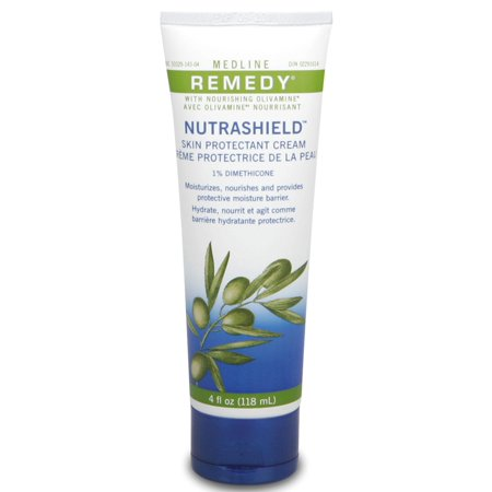 Medline Remedy Olivamine Nutrashield Skin Protectant  Unscented  4 Oz