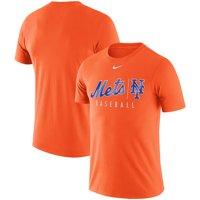 New York Mets Nike MLB Practice T-Shirt - Orange