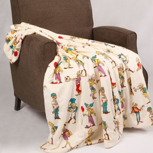 Click here to buy BOON Throw & Blanket Multi-Zombie Throw Blanket by BOON Throw & Blanket.