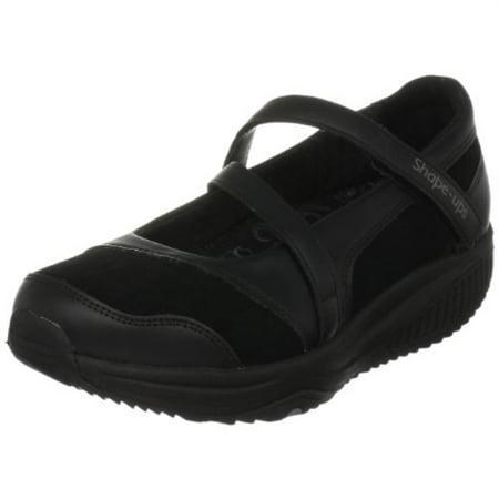 Skechers Women's Shape Ups XW Hyperactive Sneaker,Black,7.5 M US (Skechers Shape Ups Man)
