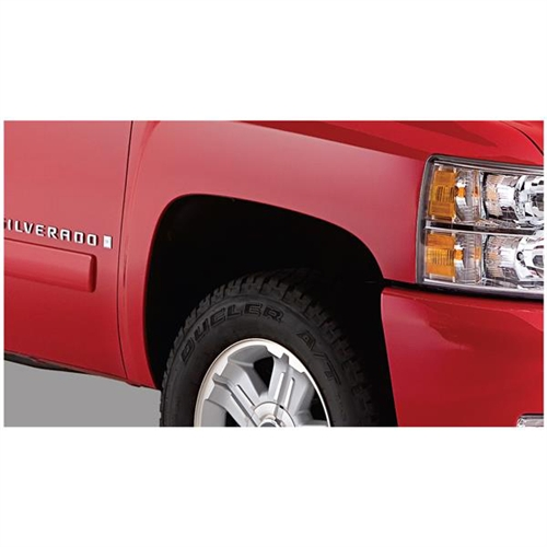Bushwacker Chevrolet Extend-A-Fender Flare - Set of 4 - OE Matte Black 4093802