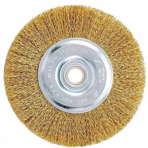 """Vermont American 16801 6"""" Coarse Wire Wheel"""
