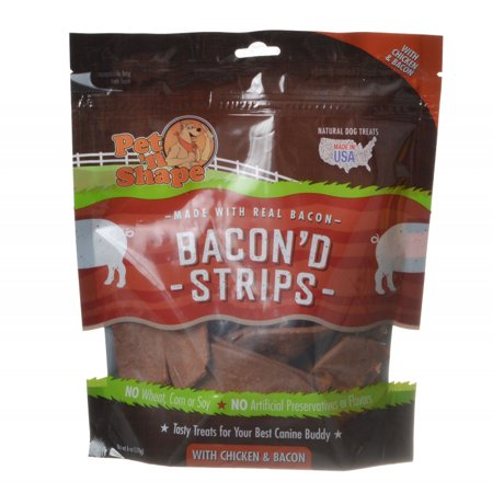 Pet N Shape Bacond Strips With Chicken And Bacon - 6 oz