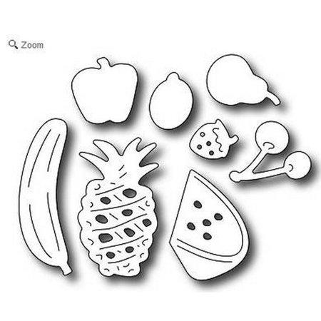Frozen Strawberries - Frantic Stamper - Dies - Fresh Fruit Icons