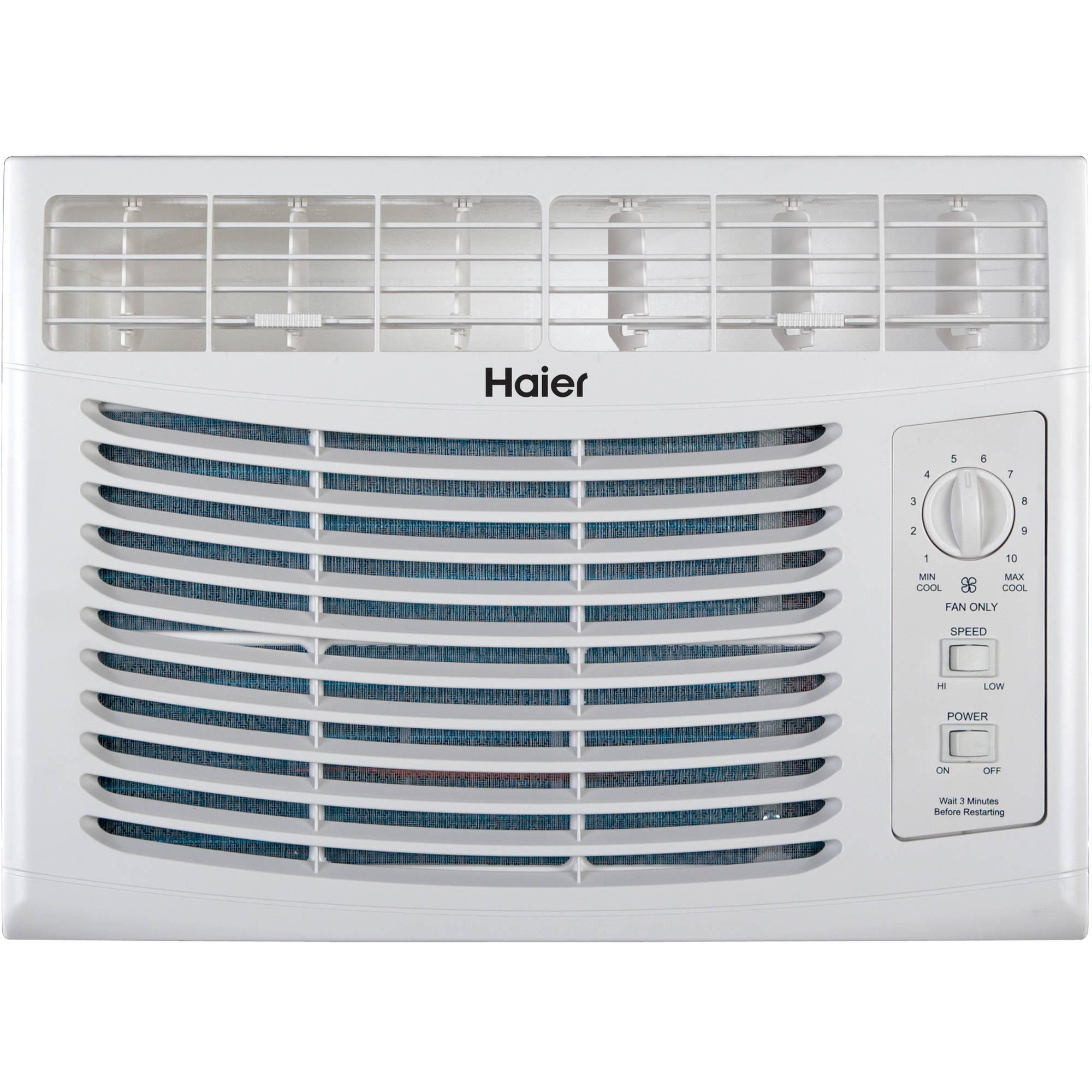 Haier 5,000 BTU Window Air Conditioner, 115V, HWF05XCR-LD ... on
