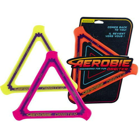 Aerobie Orbiter Boomerang , Soft Rubber Edged Flying Disc (colours and styles may vary) - image 1 of 3