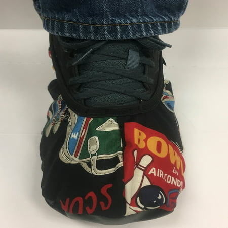 Master Bowling Pins Shoe Covers- 2017 Version Large