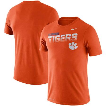 Clemson Tigers Nike Sideline Legend Performance T-Shirt - Orange
