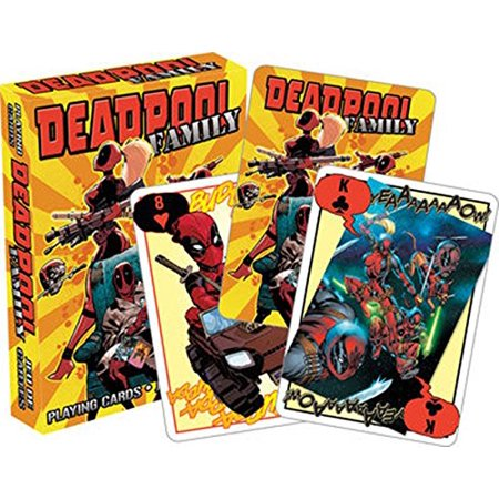 Playing Card - Deadpool - Family Youth Poker Games New Licensed 52463