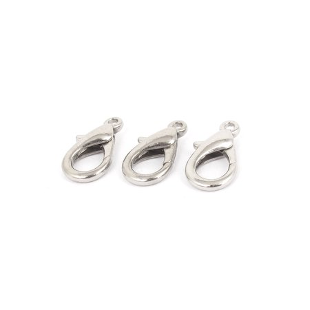 3pcs Jewelry Necklace Findings Parrot Lobster Clasps Claw Buckle Hooks