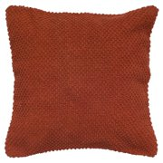 """Rizzy Home Decorative Poly Filled Throw Pillow Solid 20""""X20"""" Green"""