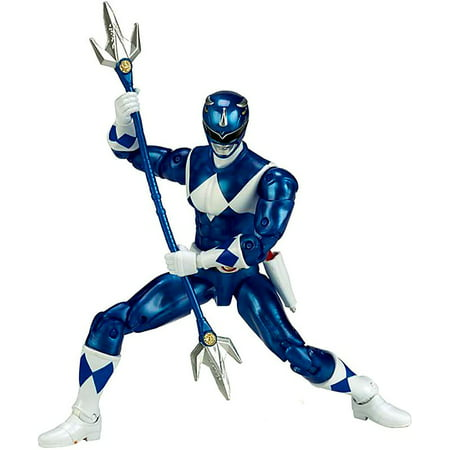 Bandai - Power Rangers Legacy, Mighty Morphin Blue - Jungle Fury Blue Ranger
