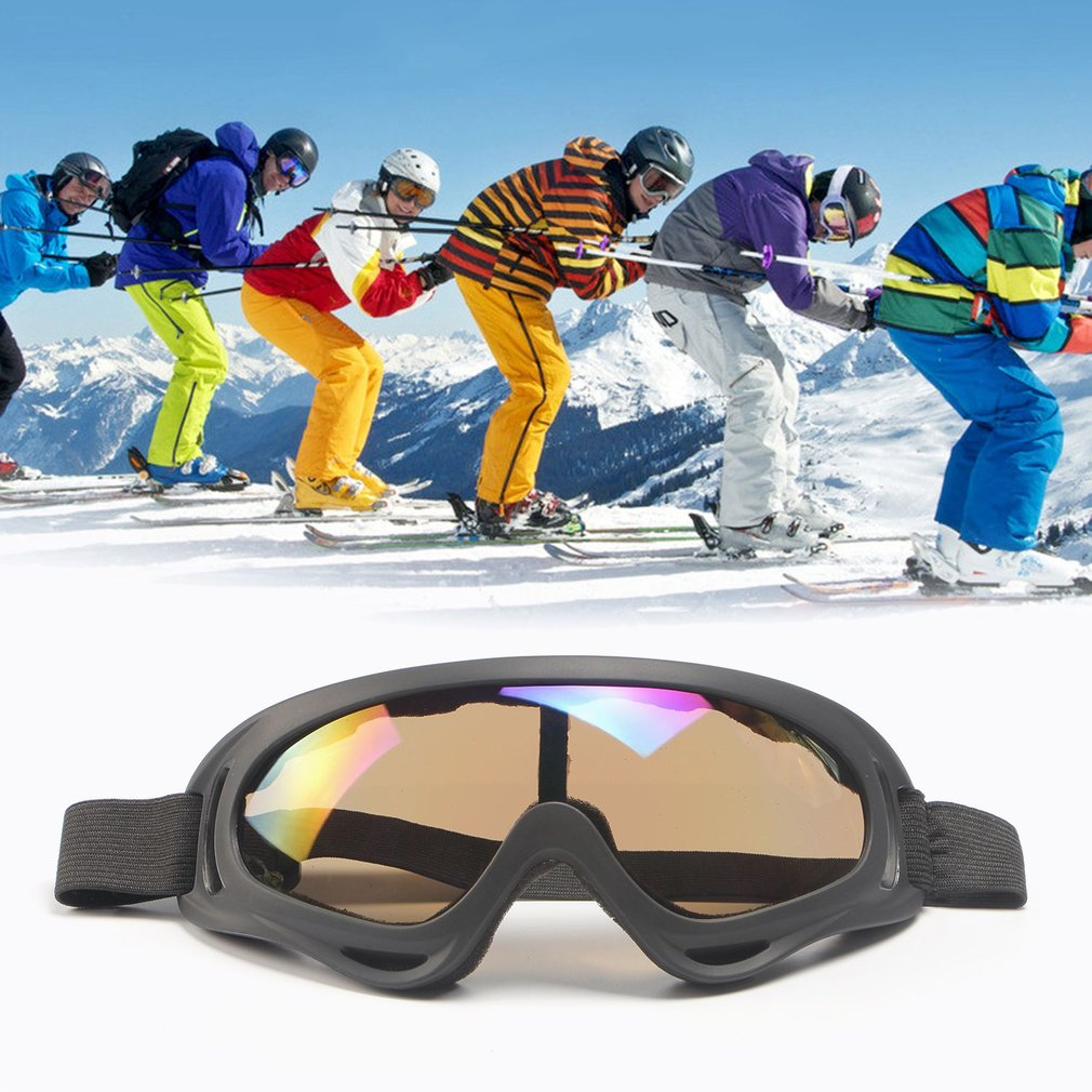 Windproof Anti-fog Tactical Glasses Goggles Polarized Outdoor Glasses UV400 Protection for Off-road Riding Skiing by