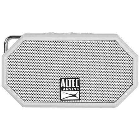 Image of Altec Lansing iMW257 Mini H20 Bluetooth Speaker, Gray