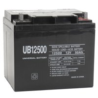 """UPG UB12500 12V 50Ah Rechargeable Sealed Lead Acid AGM Battery"""