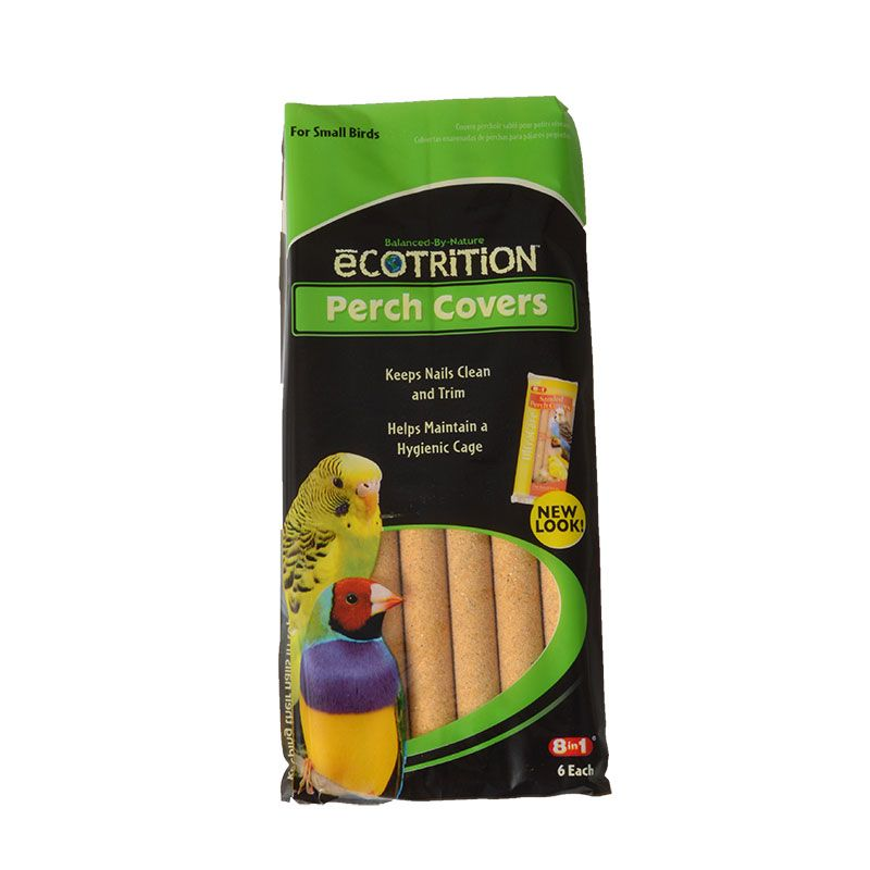 Ecotrition Sanded Perch Cover Small (6 Pack)