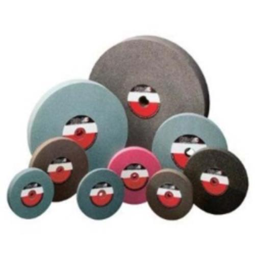 "Camel Grinding Wheels 38012 Bench Grinder Wheel, 6"" X 1"" X 1"" With Bushings Down To 5/8"", Brown Aluminum Oxide, 36 Grit"