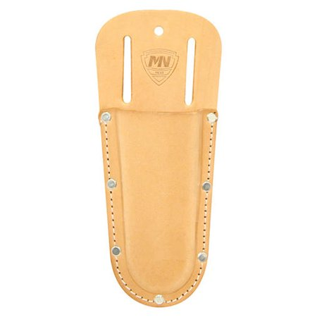 McGuire Plier Holder with Rounded Bottom, Saddle Leather