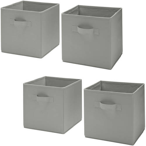 Delta Children 2 Storage Cubes, 4-Pack Value Bundle