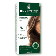 Herbatint Permanent Herbal Hair Colour Gel 5N Light Chestnut