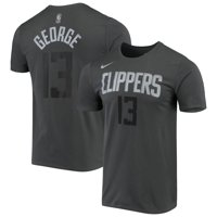 Paul George LA Clippers Nike Icon Performance T-Shirt - Gray