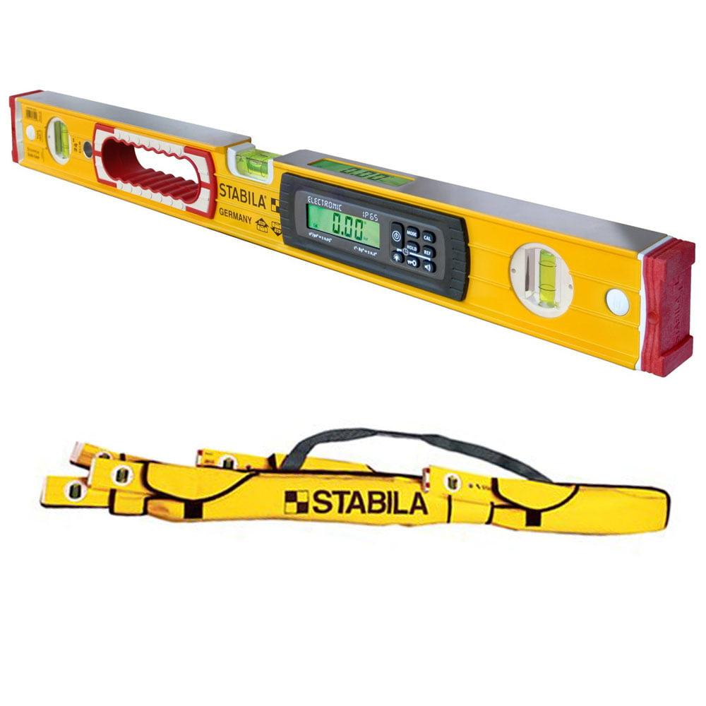 """Stabila 36524 24"""" Electronic Dust & Waterproof IP65 TECH Level w  Case by"""
