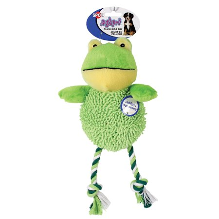 Ethical Dog-Giggler Water Critter Plush Dog Toy- Assorted 12 In Crazy Critters Dog