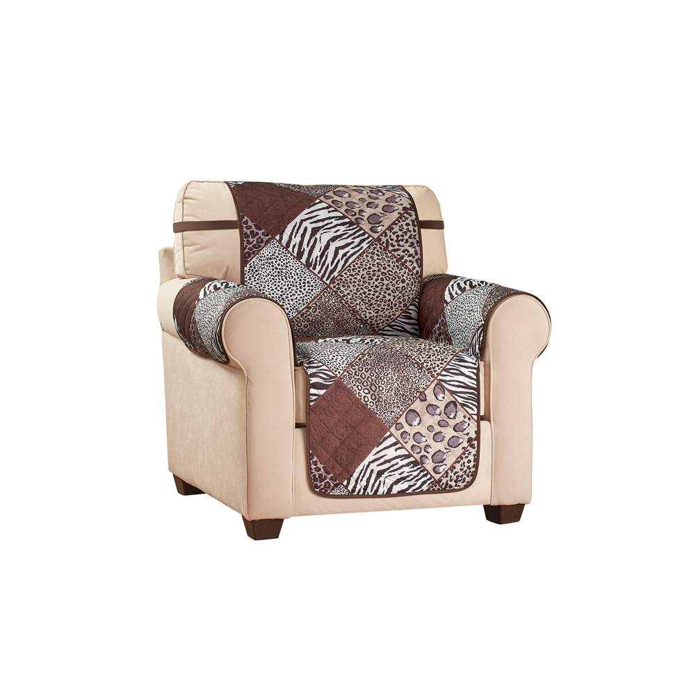 Reversible Safari Animal Print Furniture Protector