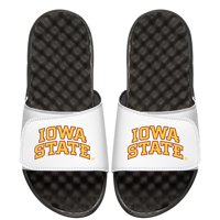 Iowa State Cyclones ISlide Youth Wordmark Slide Sandals - White