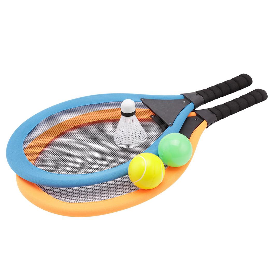 Kids Tennis Racquet Set Plastic Badminton Racket with Balls for Outdoor  Training | Walmart Canada