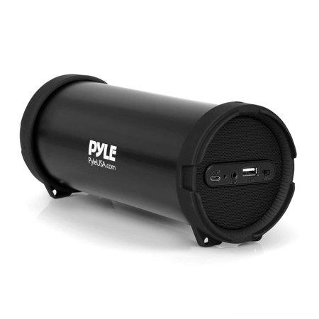 Pyle Surround Portable Boombox Best Quality Wireless Home Speaker Stereo System, Built-In Battery, MP3/USB/FM Radio with Auto-Tuning, Aux Input Jack For external