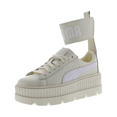 new arrival e378d 3a4e1 Puma Women's Fenty X Ankle Strap Sneaker Vanilla Ice / White Ankle-High  Leather Fashion - 6M