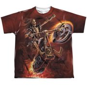Anne Stokes - Hellrider - Youth Short Sleeve Shirt - Medium