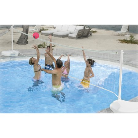 Dunn Rite Water Volly Portable Pool Volleyball Set