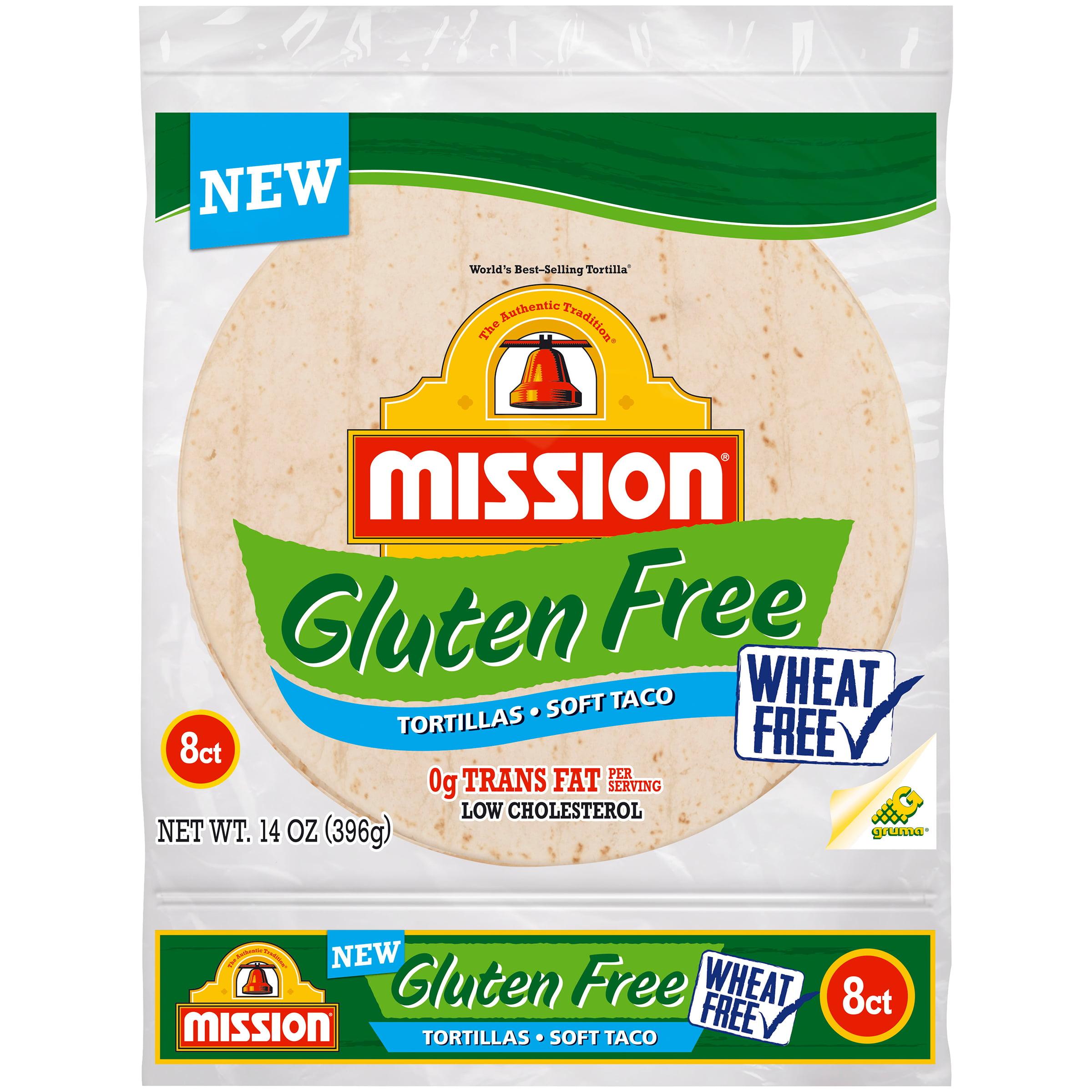 Mission�� Gluten Free Soft Taco Tortillas 8 ct Bag