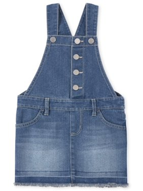 The Children's Place Baby Girl & Toddler Girl Denim Skirtall Dress (12M-5T)