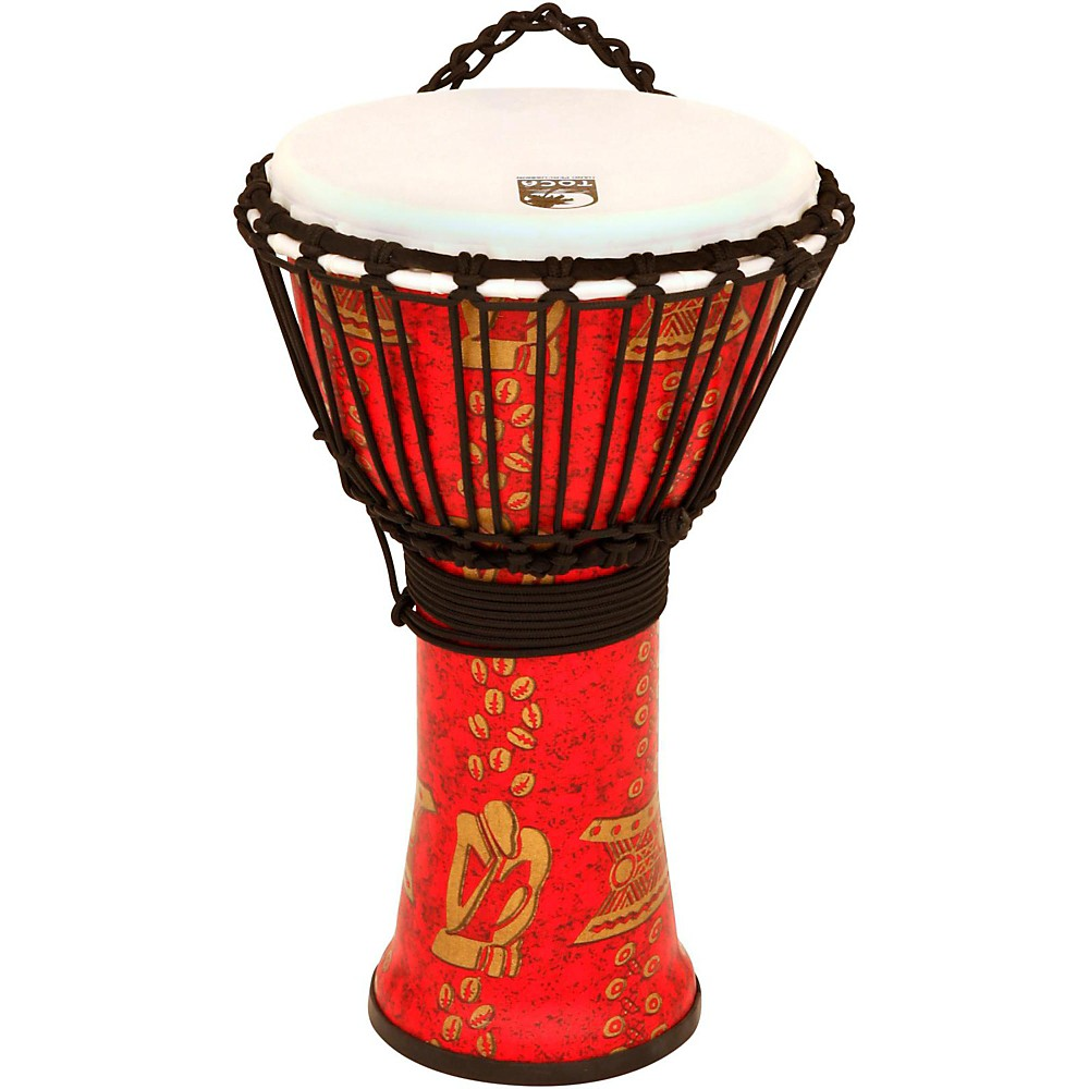 Toca Freestyle II Rope-Tuned Djembe 10 in. Thinker by Toca